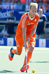 THE HAGUE - Rabobank Hockey World Cup 2014 - 13-06-2014 - MEN - SEMI-FINAL THE NETHERLANDS - ENGLAND 1-0 - Billy BAKKER.<br /> Copyright: Willem Vernes