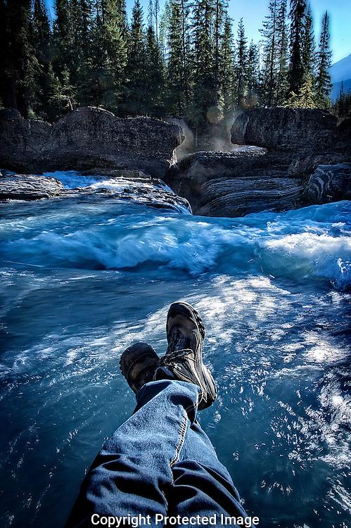 Natural Bridge in Yoho Nat'l Park., British Columbia, canada, Isobel Springett