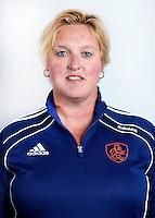 AMSTELVEEN - Conny van Bentum , teamarts van Oranje dames hockey.COPYRIGHT KOEN SUYK