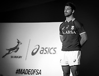 CAPE TOWN, SOUTH AFRICA - Thursday 24 April 2014, Willie le Roux during the Asics launch of the new Springbok rugby jersey at The Lookout in the V&amp;A Waterfront<br /> Photo by Roger Sedres/ImageSA