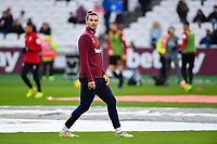 Football - 2018 / 2019 Premier League - West Ham United vs. Watford <br /> <br /> West Ham United's Andy Carroll during the pre-match warm-up , at The London Stadium.<br /> <br /> COLORSPORT/ASHLEY WESTERN
