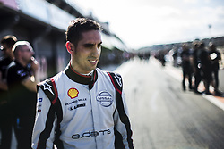 October 17, 2018 - Valencia, Spain - BUEMI Sebastien (che), Nissan e.dams Team portrait during the Formula E official pre-season test at Circuit Ricardo Tormo in Valencia on October 16, 17, 18 and 19, 2018. (Credit Image: © Xavier Bonilla/NurPhoto via ZUMA Press)