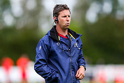 Bristol Rugby Head of Performance Paul Bunce looks on - Rogan/JMP - 05/08/2017 - RUGBY UNION - Cleve RFC - Bristol, England - Bristol Rugby v Harlequins - Pre-Season Friendly.