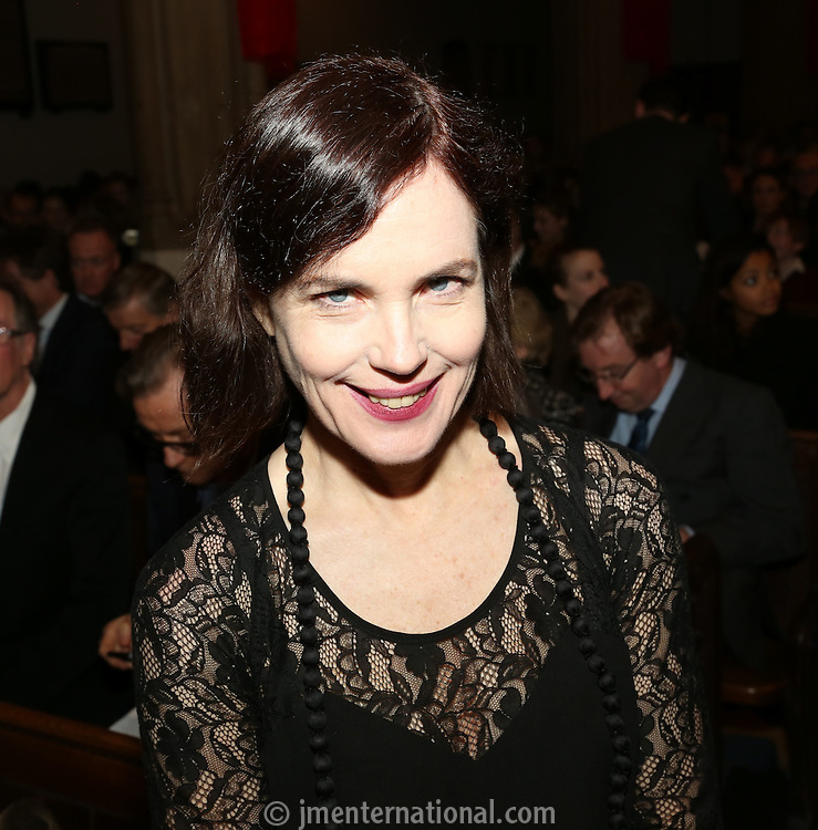 Elizabeth McGovern at the Nordoff-Robbins Carol Service 2012, St Luke's Church, Chelsea, London. Tuesday, Dec 18, 2012 (Photo/John Marshall JME)