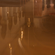 Reflections in a marble chapel floor.