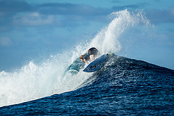 Wade Carmichael (AUS)  ranked equal 5th after placing 2nd in  Quarters 2 at the Tahiti Pro 2018 ,Teahupoo, French Polynesia