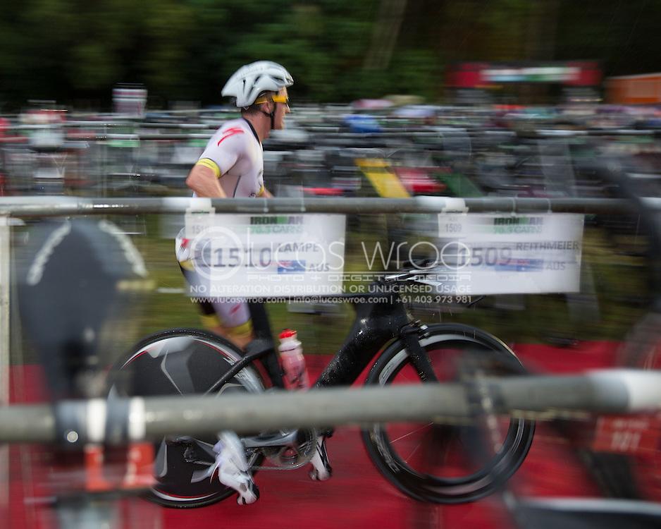 Matty White (AUS), June 8, 2014 - TRIATHLON : Ironman Cairns 70.3 / Cairns Airport Adventure Festival, Palm Cove - Captain Cook Highway - Cairns Esplanade, Cairns, Queensland, Australia. Credit: Lucas Wroe