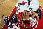 DESCRIZIONE : Teramo Lega A1 2007-08 Siviglia Wear Teramo Angelico Biella<br /> GIOCATORE : <br /> SQUADRA : Siviglia Wear Teramo<br /> EVENTO : Campionato Lega A1 2007-2008 <br /> GARA : Siviglia Wear Teramo Angelico Biella<br /> DATA : 18/11/2007 <br /> CATEGORIA : special curiosita schiacciata<br /> SPORT : Pallacanestro <br /> AUTORE : Agenzia Ciamillo-Castoria/E.Castoria