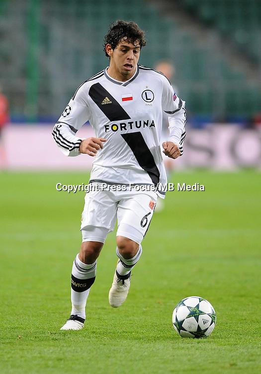 2016.11.02 Warszawa <br /> Pilka nozna UEFA Liga Mistrzow Sezon 2016/2017<br /> Legia Warszawa - Real Madryt<br /> N/z Guliherme C Marques<br /> Foto Rafal Rusek / PressFocus<br /> <br /> 2016.11.02 Warszawa <br /> Football UEFA Champions League Season 2016/2017<br /> Legia Warszawa - Real Madryt<br /> Guliherme C Marques<br /> Credit: Rafal Rusek / PressFocus