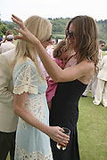 Jenny Halpern and Trinny Woodall, Guy Leymarie and Tara Getty host The De Beers Cricket Match. The Lashings Team versus the Old English team. Wormsley. ONE TIME USE ONLY - DO NOT ARCHIVE  © Copyright Photograph by Dafydd Jones 66 Stockwell Park Rd. London SW9 0DA Tel 020 7733 0108 www.dafjones.com