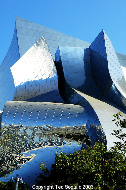 Walt Disney Concert Hall exterior downtown L.A