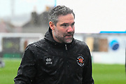 Blackpool caretaker manager David Dunn ahead of the EFL Sky Bet League 1 match between Bristol Rovers and Blackpool at the Memorial Stadium, Bristol, England on 15 February 2020.