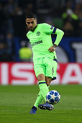 November 28, 2018 - Porto, Porto, Portugal - Omar Mascarell midfielder of FC Schalke 04 in action during the UEFA Champions League, match between FC Porto and FC Schalke 04, at Dragao Stadium in Porto on November 28, 2018 in Porto, Portugal. (Credit Image: © Dpi/NurPhoto via ZUMA Press)