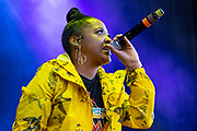 Rapsody performs during Summer Spirit Festival 2018 at Merriweather Post Pavilion in Columbia, MD on Saturday, August 4, 2018.