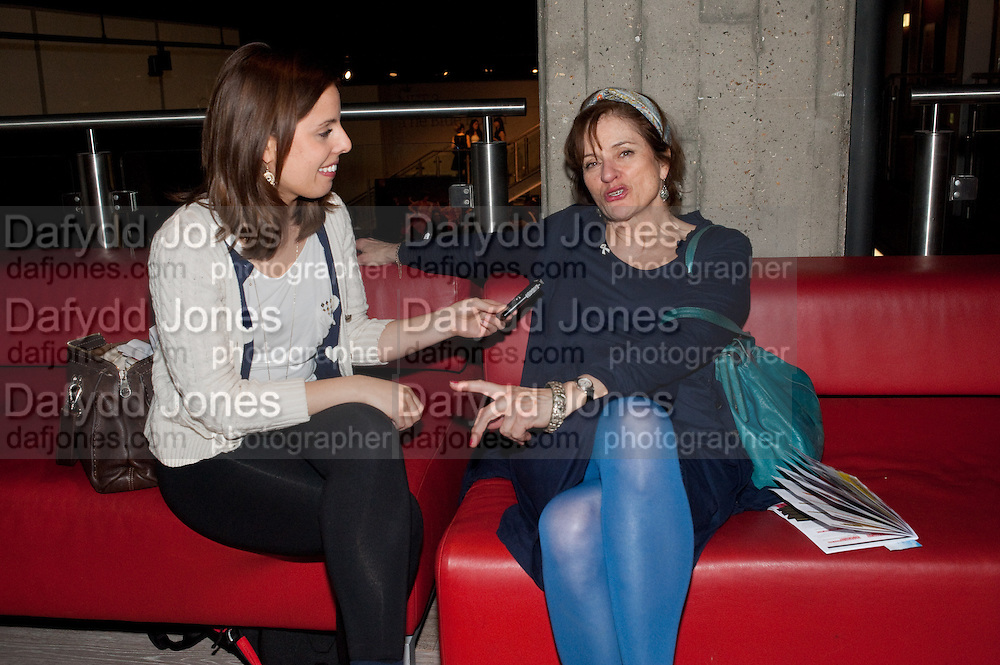 VICTORIA ANNE BALL; DIANA QUICK, BIRDS EYE VIEW INTERNATIONAL WOMEN'S DAY  RECEPTION, BFI Southbank. London. 8 March 2012.