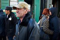 Russie, oblast de Krasnoïarsk, Krasnoïarsk, 40 minutes d'arret, gare ferroviaire, Station du transsiberien // Russia, Krasnoyarsk oblast, Krasnoyarsk, 40 minutes stop, railway station, Trans-Siberian line