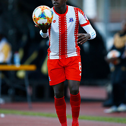 Siphesihle Ndlovu of Maritzburg Utd during the Premier Soccer League (PSL) promotion play-off  match between  Royal Eagles and Maritzburg United F.C. at the Chatsworth Stadium Durban.South Africa,29,05,2019