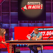 NLD/Utrecht/20200401602 - Cultuur in Actie.nl, Daphne Bunskoek in gesprek met Waldemar Torenstra