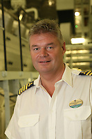 The launch of Royal Caribbean International's Oasis of the Seas, the worlds largest cruise ship..Staale Johan Ludviksen. Chief Engineer