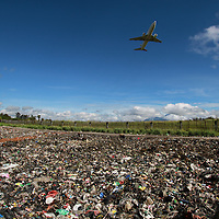 In the highlands everything needs to be brought in by plane. Consumer goods leave a desert of rubbish behind