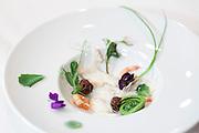 """Le Chef Olivier Roellinger, lors de la soiree benefice pour l'ITHQ """"Les Grand Chefs """" -  Fairmount - Reine Elizabeth / Montreal / Canada / 2010-04-30, © Photo Marc Gibert/ adecom.ca"""