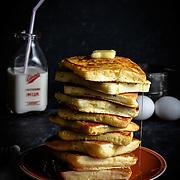 Square Pancakes | Oklahoma Food Photographer