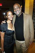 l to r: Melissa Thornton and Danny Simmons at The 3rd Annual Black Girls Rock Awards held at the Rose Building at Lincoln Center in New York City on November 2, 2008..BLACK GIRLS ROCK! Inc. is a 501 (c)(3) nonprofit, youth empowerment mentoring organization established for young women of color.  Proceeds from ticket sales will benefit BLACK GIRLS ROCK! Inc.?s mission to empower young women of color via the arts.  All contributions are tax deductible to the extent allowed by