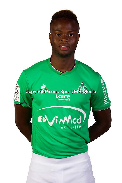 Ismael DIOMANDE - 12.08.2015 - Portrait Officiel - Saint Etienne<br /> Photo : ASSE / Icon Sport