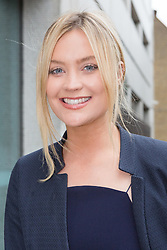 © Licensed to London News Pictures. 09/09/2015. London, UK. Laura Whitmore arrives at the ITV Studios in London. Photo credit : Vickie Flores/LNP