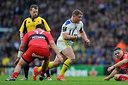 Benjamin Kayser of Clermont Auvergne - Photo mandatory by-line: Patrick Khachfe/JMP - Mobile: 07966 386802 02/05/2015 - SPORT - RUGBY UNION - London - Twickenham Stadium - ASM Clermont Auvergne v RC Toulon - European Rugby Champions Cup Final