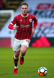 Cauley Woodrow of Bristol City - Mandatory by-line: Robbie Stephenson/JMP - 06/01/2018 - FOOTBALL - Vicarage Road - Watford, England - Watford v Bristol City - Emirates FA Cup third round proper