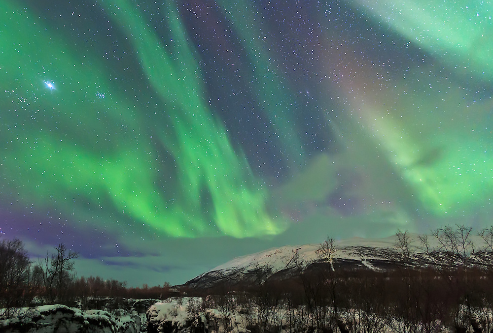 Abisko Canyon 10:00 PM