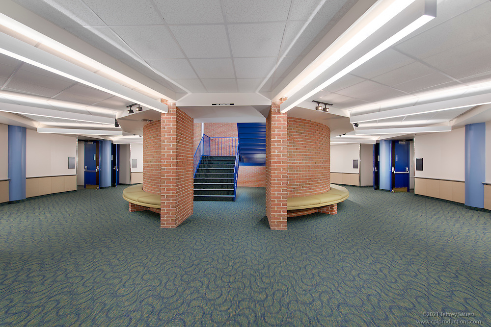 Johns Hopkins University Applied Physics Lab Kossiakoff Center Interior Image By Jeffrey Sauers Of Commercial Photographics