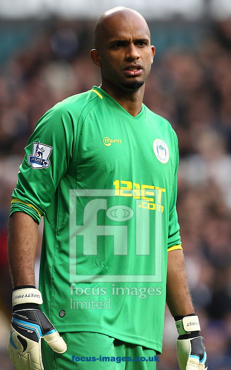 Picture by Paul Terry/Focus Images Ltd +44 7545 642257.03/11/2012.Ali Al Habsi of Wigan Athletic during the Barclays Premier League match at White Hart Lane, London.
