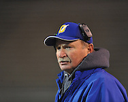 Oxford High coach Johnny Hill vs. Picayune in the MHSAA Class 5A championship game at Mississippi Veterans Memorial Stadium in Jackson, Miss. on Saturday, December 7, 2013.