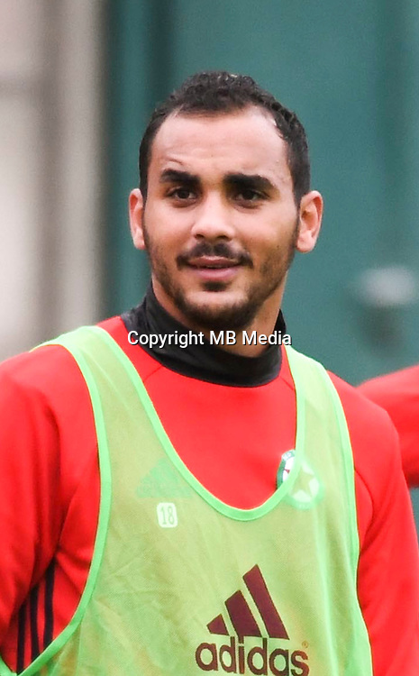 Idriss Mhirsi of red Star during a training session of Red Star in their new training center at Stade Chazottes in Gennevilliers, France. September 05th 2016.<br /> (Photo by Anthony Dibon/Icon Sport)