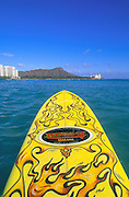 Surfing, Waikiki, Oahu, Hawaii, USA<br />