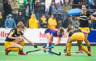 BILTHOVEN  - Hockey -  1e wedstrijd Play Offs dames. SCHC-Den Bosch (0-1). Xan de Waard (SCHC)   COPYRIGHT KOEN SUYK