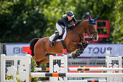 PERSSON Nicole (SWE), Cebu 2<br /> Münster - Turnier der Sieger 2019<br /> Preis des EINRICHTUNGSHAUS OSTERMANN, WITTEN<br /> CSI4* - Int. Jumping competition  (1.45 m) - <br /> 1. Qualifikation Mittlere Tour<br /> Medium Tour<br /> 02. August 2019<br /> © www.sportfotos-lafrentz.de/Stefan Lafrentz