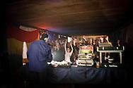Fornace, Rho. Iniziative del centro sociale. Dj set reggae (Vito War, 2007).