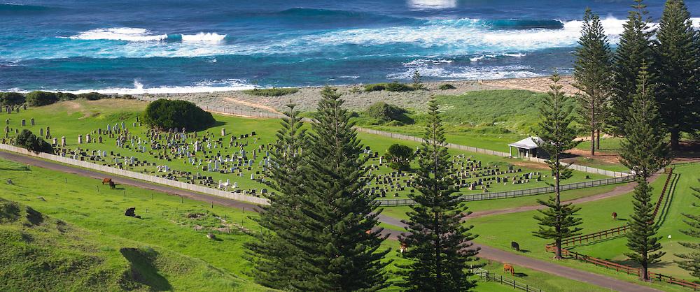 Norfolk Island cemetery, Australia