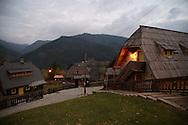 Küstendorf, Emir Kusturica's ethno-village, near Uzice, South Serbia