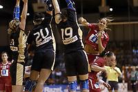 Håndball<br /> Foto: Dppi/Digitalsport<br /> NORWAY ONLY<br /> <br /> PARIS ILE DE FRANCE TOURNAMENT 2006 - PARIS (FRA) - 03 TO 05/11/2006<br /> <br /> Tyskland v Norge<br /> GERMANY V NORWAY (WINNER) - GRO HAMMERSENG (NOR)