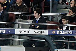 "22.03.2015, Camp Nou, Barcelona, ESP, Primera Division, FC Barcelona vs Real Madrid, 28. Runde, im Bild Francisco Nicolás Gómez Iglesias, dubbed by the Spanish press as ""Little Nicholas"" is a Spanish law student who took notoriety and became famous when he was arrested in October 2014 on charges of forgery, fraud is attempted and usurpation public office, even claiming that he has worked as a collaborator for the National Intelligence Center (CNI) // during the Spanish Primera Division 28th round match between Barcelona FC and Real Madrid CF at the Camp Nou in Barcelona, Spain on 2015/03/22. EXPA Pictures © 2015, PhotoCredit: EXPA/ Alterphotos/ Acero<br /> <br /> *****ATTENTION - OUT of ESP, SUI*****"