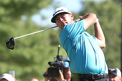 September 1, 2018 - Norton, Massachusetts, United States - Chez Reavie tees off the 10th hole during the second round of the Dell Technologies Championship. (Credit Image: © Debby Wong/ZUMA Wire)