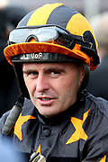 Jockey Tony Hamilton during the October Finale Meeting at York Racecourse, York, United Kingdom on 11 October 2019.