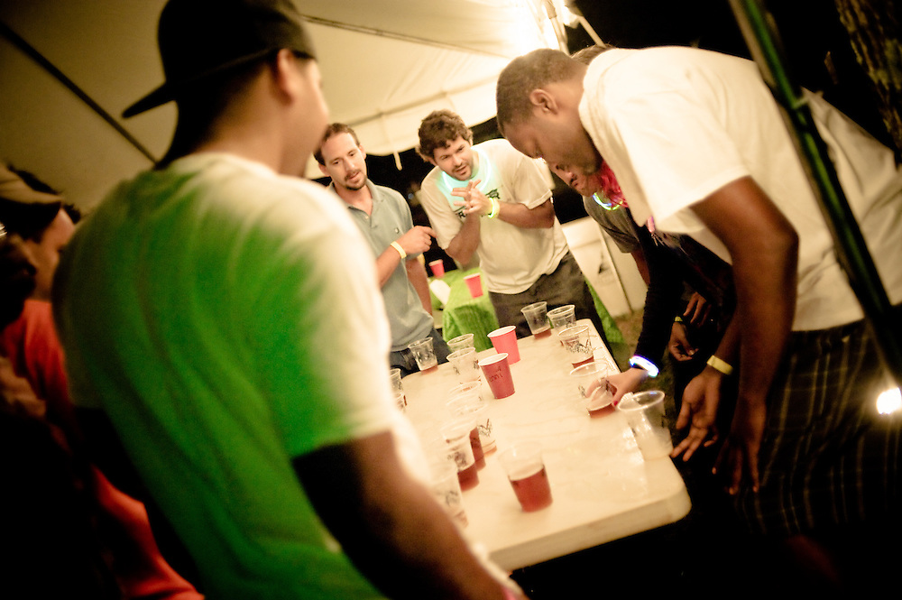 I don't even know what this game is called, but it involves cups and drunk people...