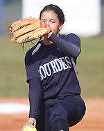 Lourdes Softball Vs. Sunset..Alexis Gimbel @ Lourdes 2012.