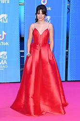 Camila Cabello attending the MTV Europe Music Awards 2018 held at the Bilbao Exhibition Centre, Spain. Photo credit should read: Doug Peters/EMPICS