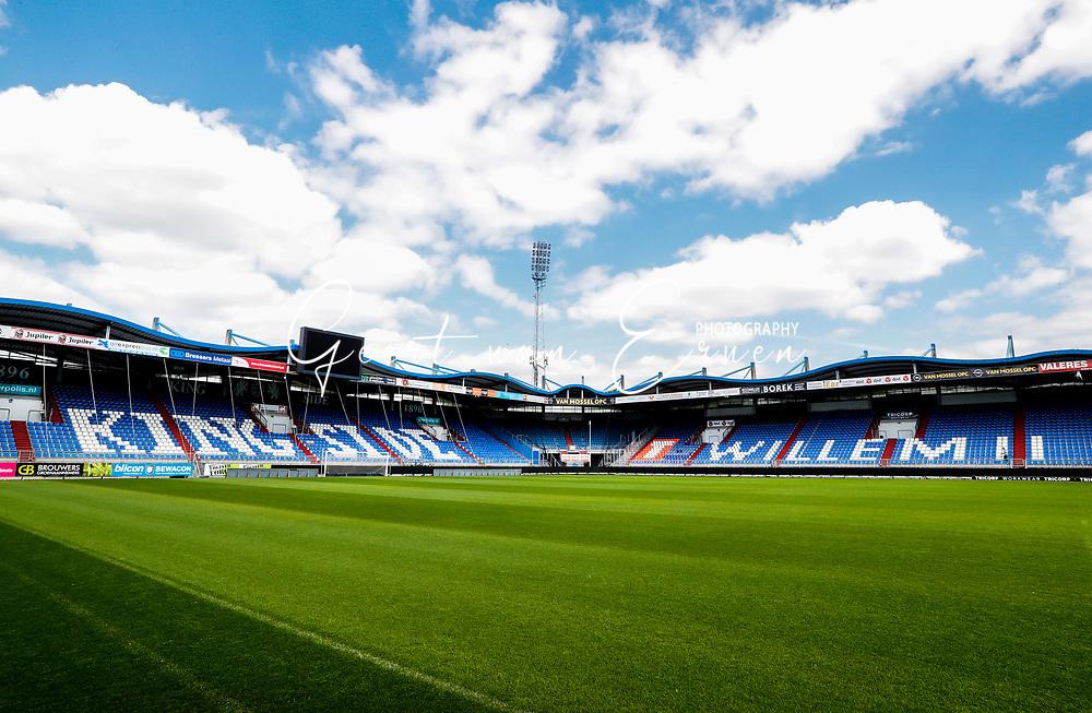 09-05-2017 VOETBALKONING WILLEM II STADION:TILBURG<br /> Koning Willem II stadion<br /> <br /> Foto: Geert van Erven